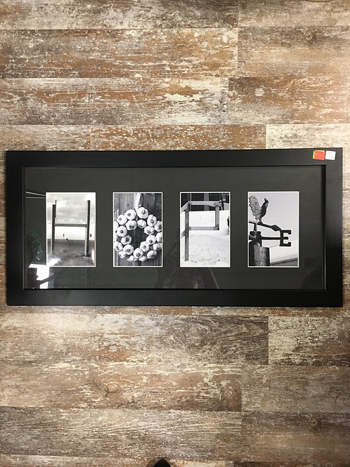 "26.25"" x 12.25"" Hanging 4x6 Photo Collage Frame"
