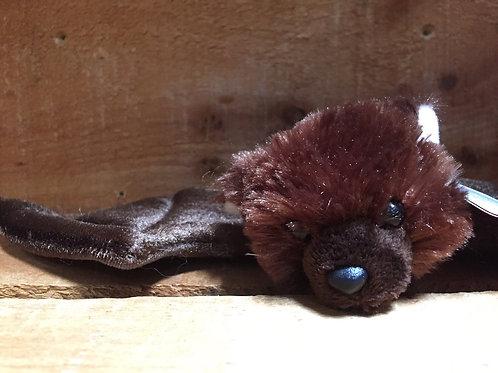 "12"" x 6"" Big Brown Bat Aurora Brand Plush Stuffed Animal"