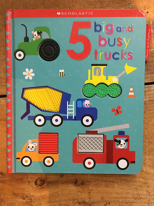 5 Big and Busy Trucks Board Book