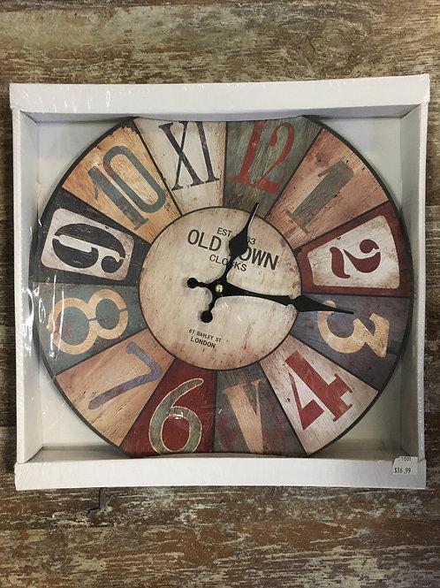 """13"""" x 13"""" Old Town Clocks Clock"""