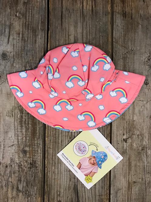 Unicorn/Mermaid 100% Polyester Lightweight Flapjack Kids Reversible Hat