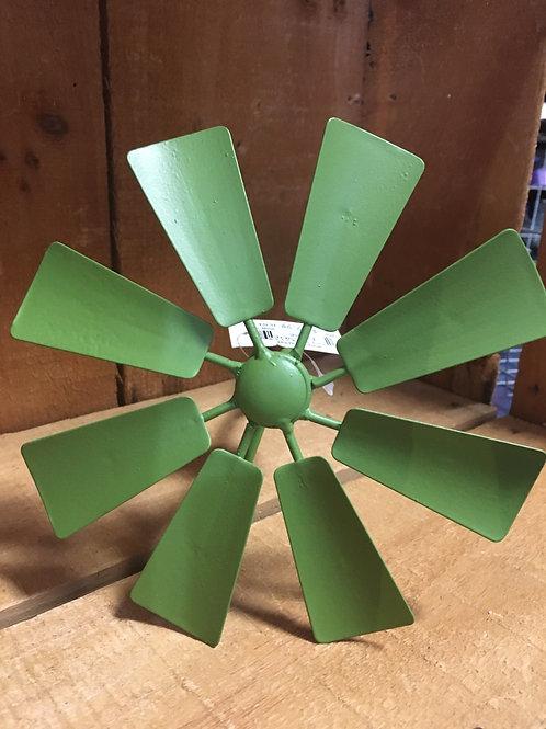 Windmill Garden Stake - Green