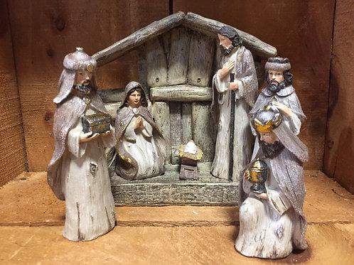 7 Piece Nativity Set