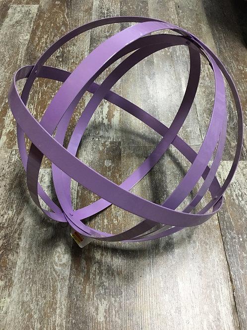 Metal Hanging Orb