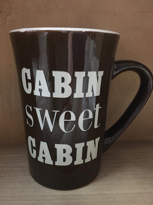 """""""Cabin Sweet Cabin"""" Ceramic Mug"""
