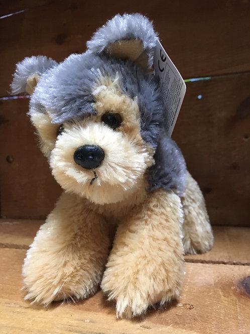 "7"" Cutie the Dog Aurora Brand Plush Stuffed Animal"