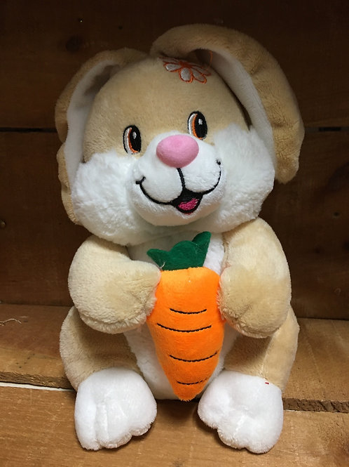 "10"" Tan Bunny Plush Stuffed Animal"