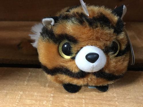"4"" x 3"" Tiger Jungle  Mini Yoohoo by Aurora Plush Stuffed Animal"