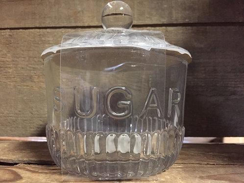"5.5"" x 4.5"" x 4.5"" Clear Glass Sugar Dish by Amici"