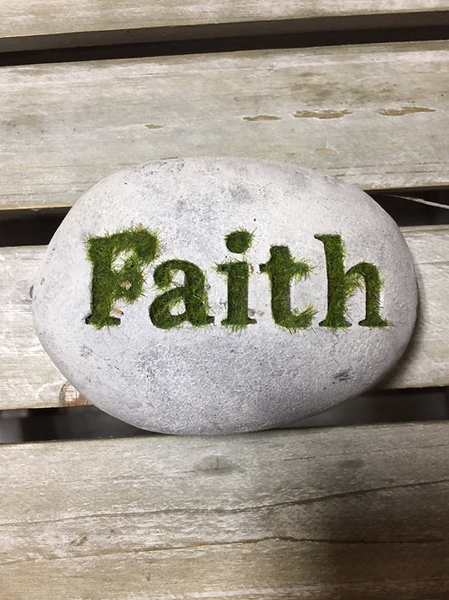 Word Stones - Faith
