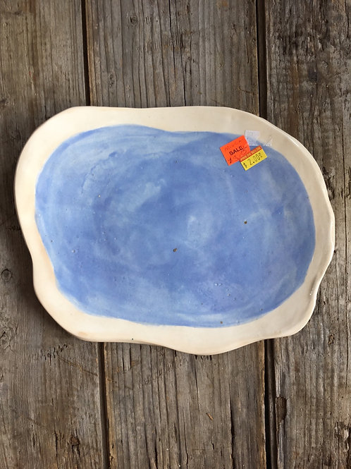 """10"""" x 8"""" Ceramic Plate by Sweet Fusion - Final Sale (discontinued)"""