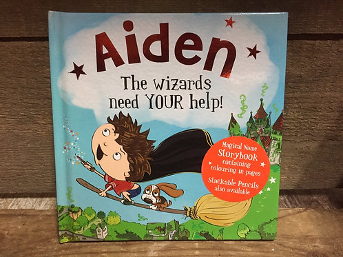 Aiden The Wizards Need Your Help Magical Storytime Book