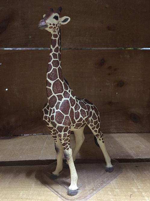 "7.5"" Plastic Giraffe Toy"