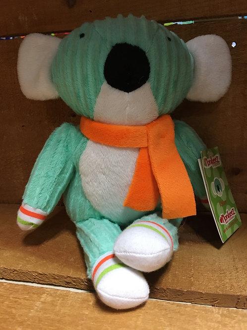 "7"" Khloe the Koala Sock Monkeez & Friends Brand Plush Stuffed Animal"