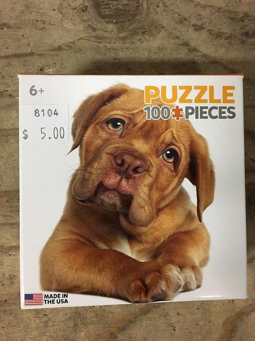 100 Piece Puppy Puzzle
