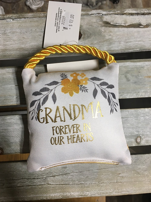 Small Comfort Pillow - Grandma