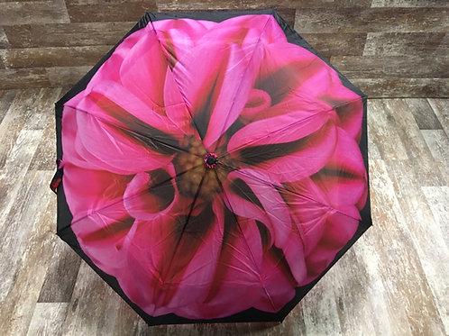"36"" x 22"" Pink Dahlia Umbrella by Abbott"