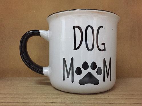 """Dog Mom"" Ceramic Mug"