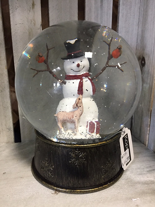 Light Up Snowglobe with Timer and Charging Cord