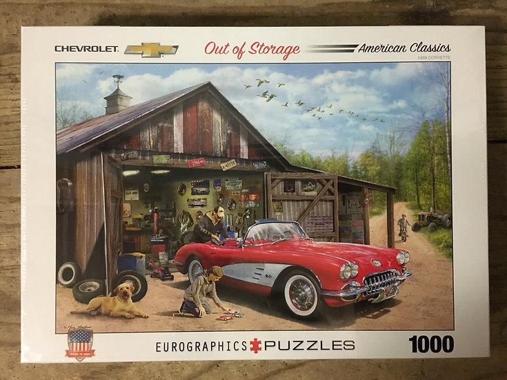 Chevrolet Out of Storage - 1000pc Eurograpgic