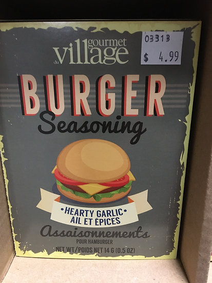 Burger Seasoning