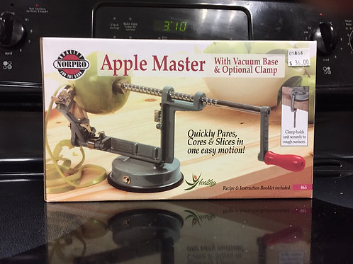 Apple Master Apple Peeler with Vacuum Base by NorPro