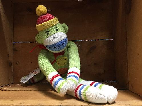 "20"" Cooper the Monkey Sock Monkeez & Friends Brand Plush Stuffed Animal"
