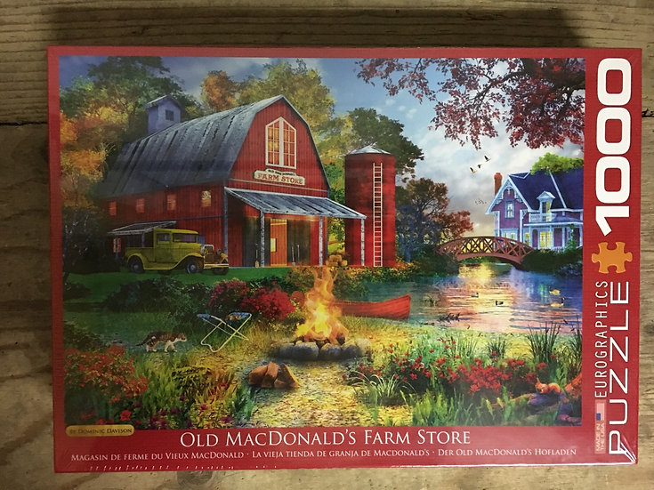 Old MacDonald's Farm Store - 1000pc Eurographic