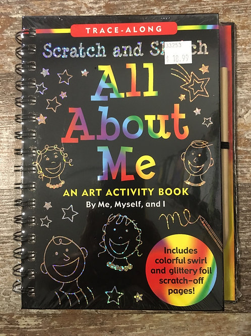 All About Me Scratch and Sketch Activity Book from Peter Pauper Press
