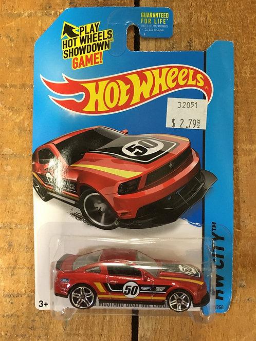 '12 Ford Mustang Boss 302 Laguna Seca HW City Hot Wheel