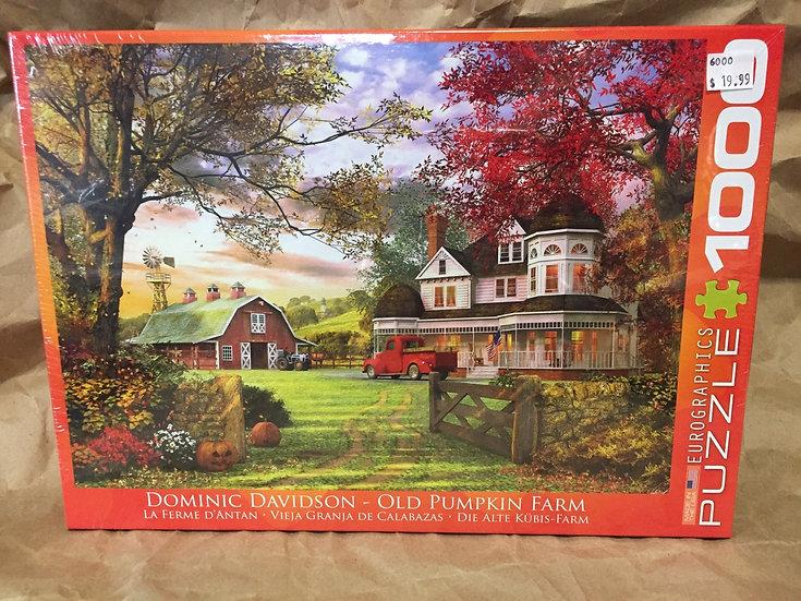 Old Pumpkin Farm - 1000 Piece Puzzle