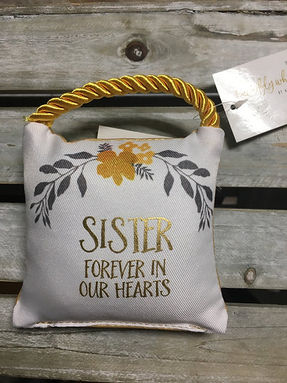 Small Comfort Pillow - Sister