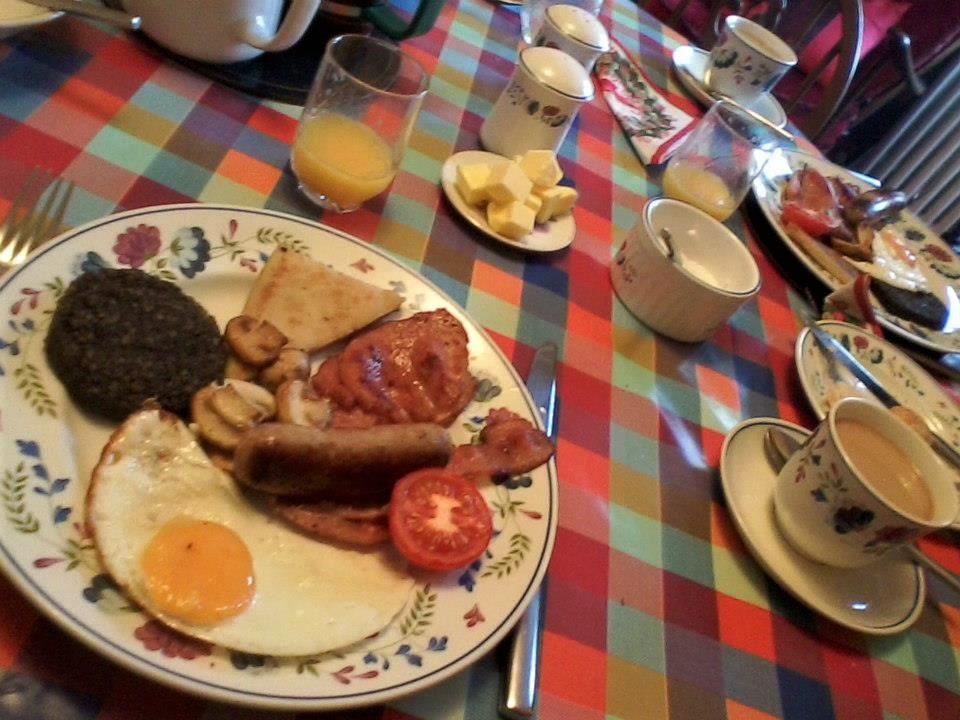 desayuno, black pudding, morcilla