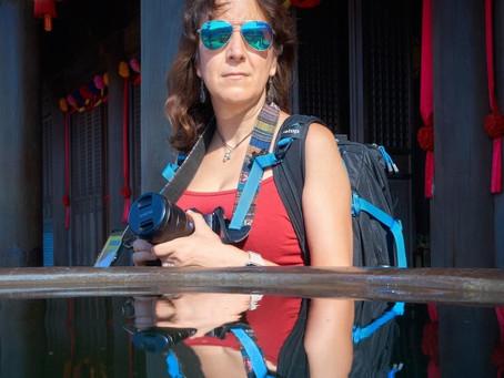 EL FOTÓGRAFO EN EL COCHE entrevista a nuestra compañera Montse González.