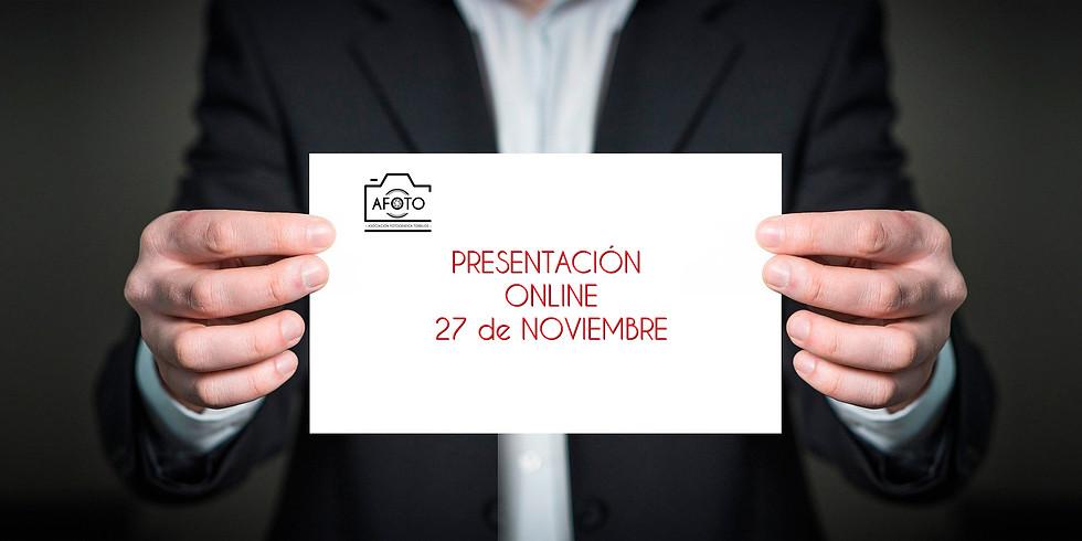 Presentación Online de la Asociación AFOTO