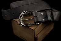 Forbidden Art leather belt