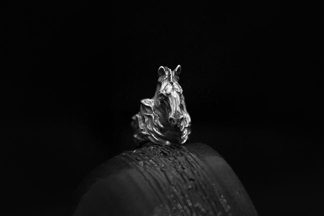 """Кольцо """"Троянский конь"""""""