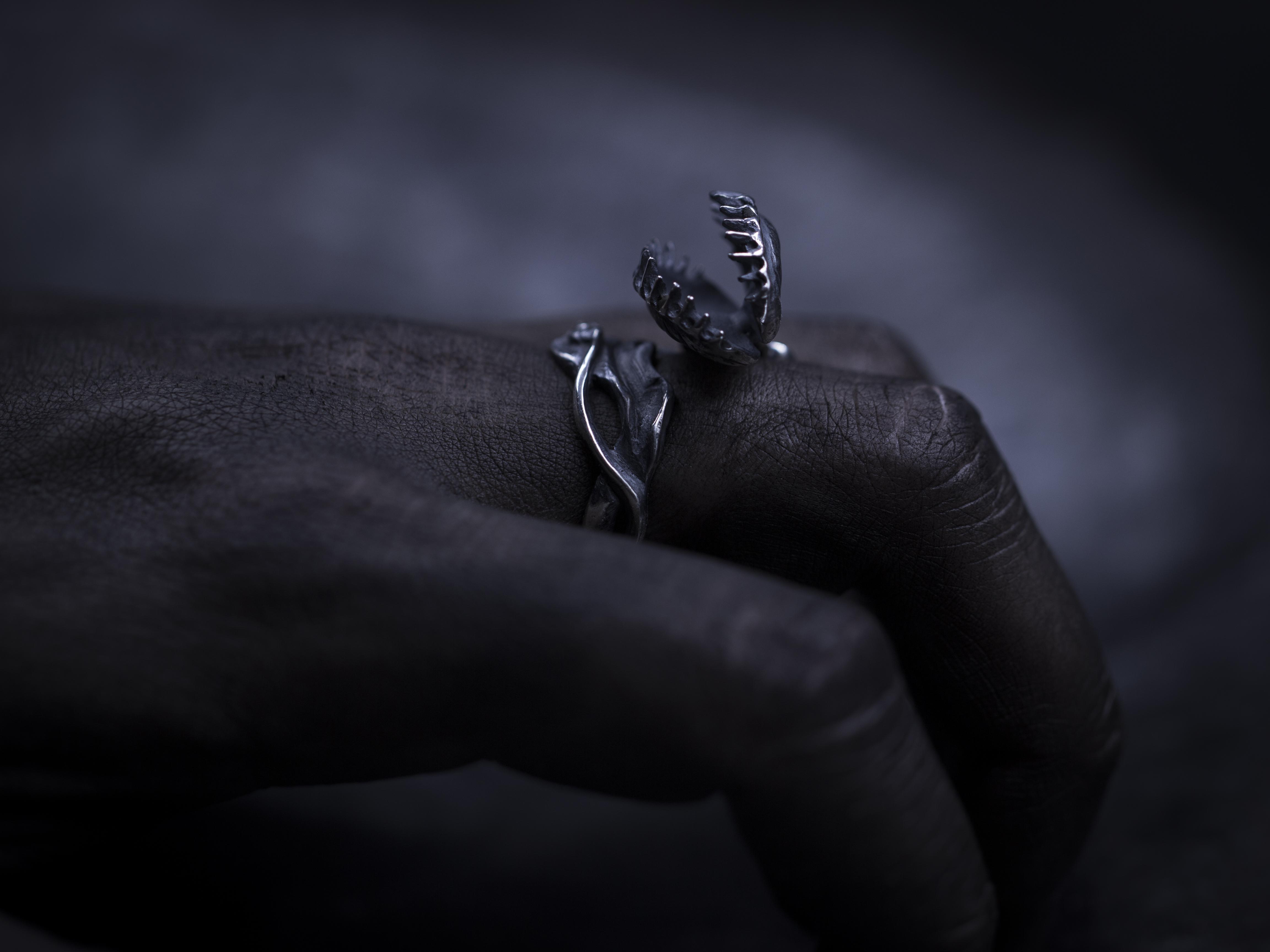 """Кольцо """"Венерина Мухоловка"""""""