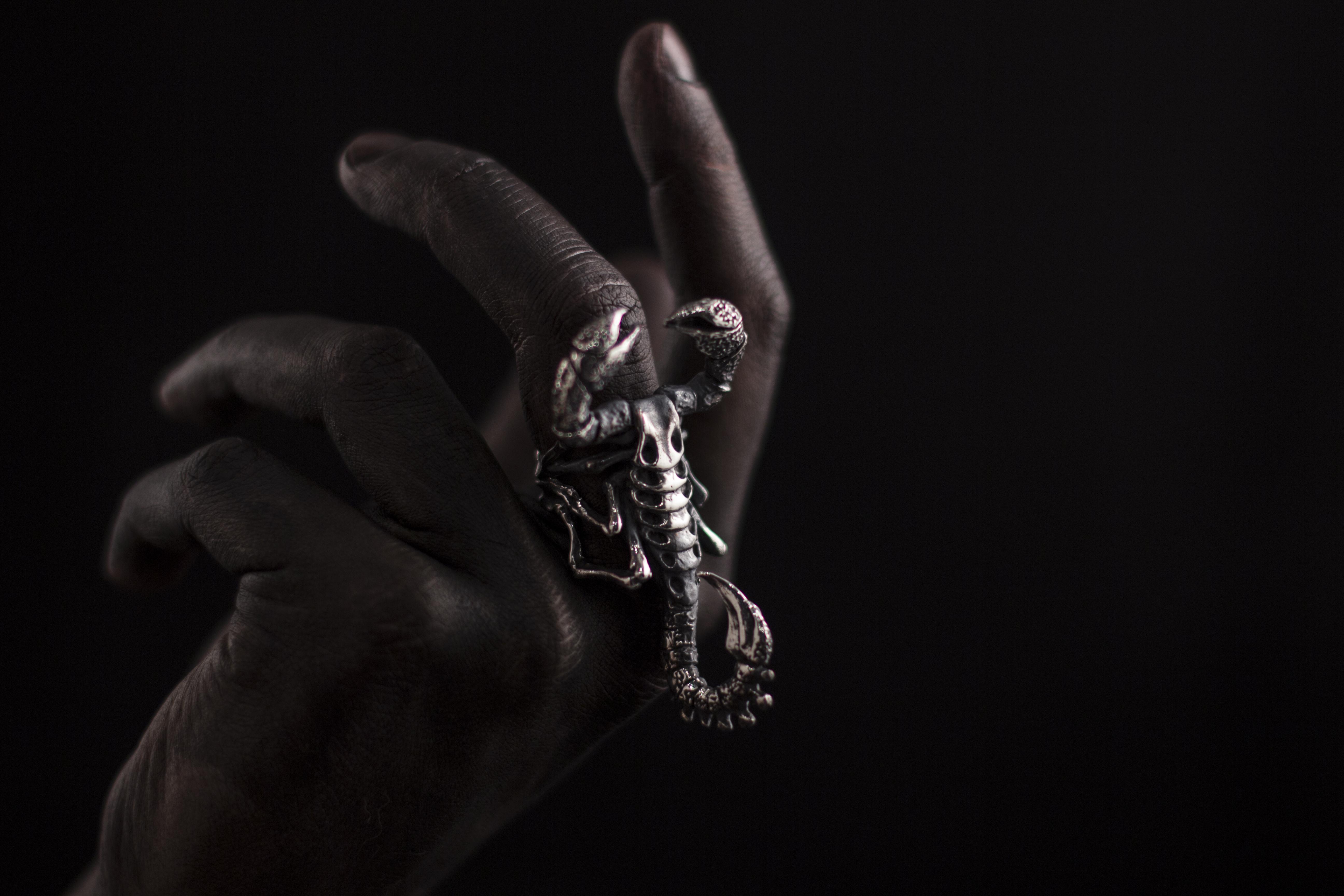 """Кольцо """"Скорпион"""""""