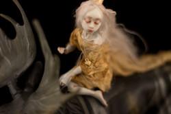 """Авторская кукла """"Лось и принцесса"""""""