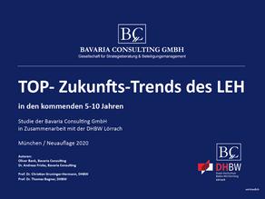 Studie: TOP-Zukunfts-Trends des LEH in den kommenden 5-10 Jahren