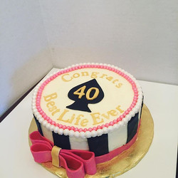 Kate spade cake #desserts1st #castrovall