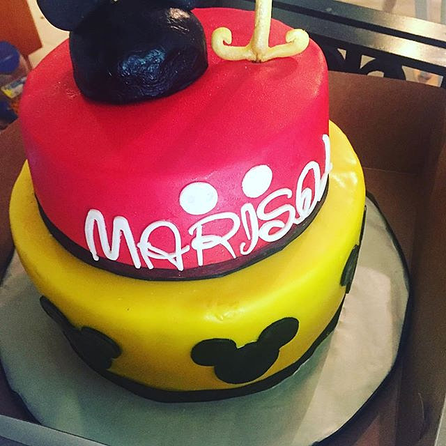Castro Valley Custom Cakes Desserts First Mickey First Birthday