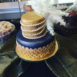 Roaring 20's themed cake #desserts1st #c
