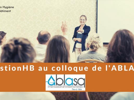 GESTION HB AU COLLOQUE DE L'ABLASQ