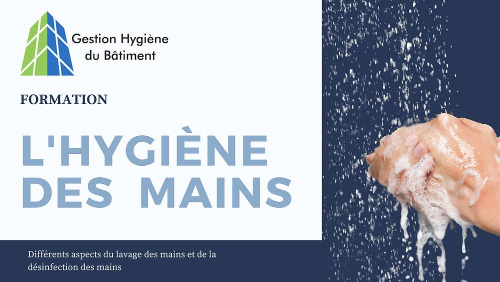 Formation sur l'hygiène des mains