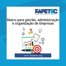 Básico para gestão, administração e organização de Empresas