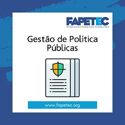 Gestão de Política Públicas