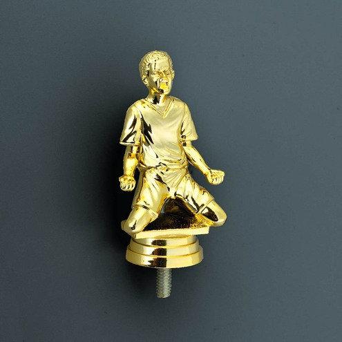 Fussball Figur Gold  88mm