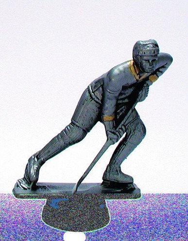 Eishockey Spieler Resin 95mm